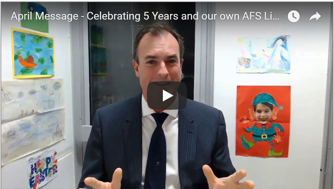 June Message – Celebrating 5 Years and our own AFS Licence!